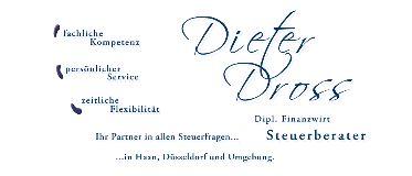 Steuerberater Dieter Dross Haan