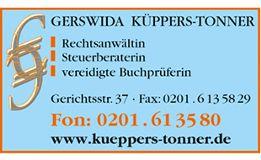 Anwalts-/ Steuerbüro Küppers-Tonner G. Essen