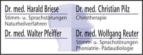Briese Harald Dr.med., Pfeiffer Walter Dr.med., Pilz Christian Dr.med., Reuter Wolfgang Dr.med. Lippstadt
