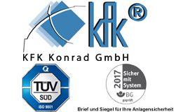 Kran & Fördertechnik Konrad GmbH KFK Tortechnik & Brandschutz & Prüfservice -Alles aus einer Hand! München
